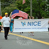 The Newtown International Center for Education was represented at this year's Newtown Labor Day Parade. (Crevier photo)