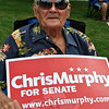 Chris Murphy supporter Hamilton Brosious. (Crevier photo)