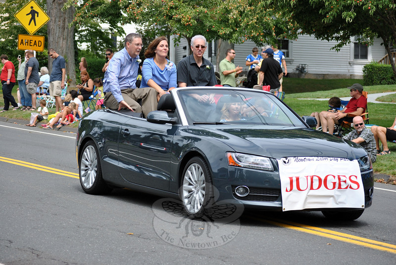 More of the 2012 Newtown Labor Day Parade Judges. (Crevier photo)
