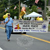 Members of Newtown Lions Club at this year's Newtown Labor Day Parade. (Crevier photo)