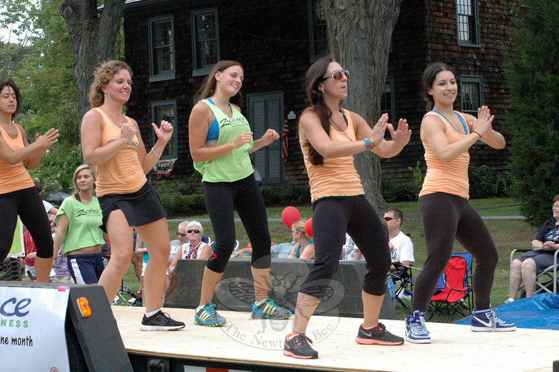 Z Place For Fitness earned the Best Float winner in this year's Newtown Labor Day Parade. (Gorosko photo)