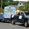 Newtown Congregational Church's float at this year's Newtown Labor Day Parade. (Crevier photo)