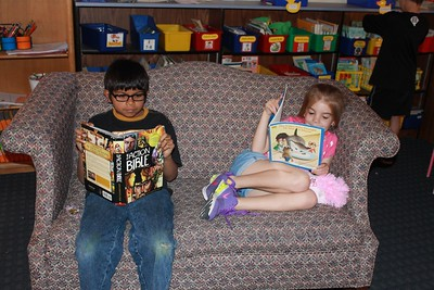 D.E.A.R. Time - drop everything and read at County Line Elementary