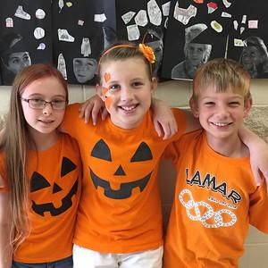 Lamar Elementary Representing Unity Day 2015