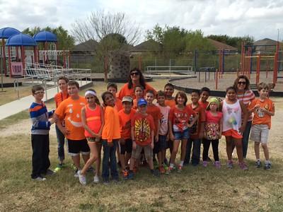 Walnut Springs Elementary Representing Unity Day 2015