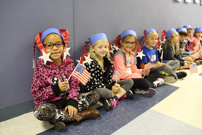 County Line Elementary Veteran's Day Parade and Ceremony held on Nov. 11, 2016.