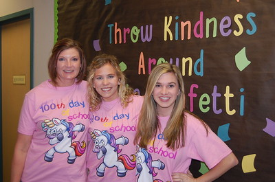 Barbara Brown, Haley Besson, Eileen Lyman (2nd Grade)