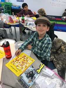 Veramendi Elementary 100th day of school activities
