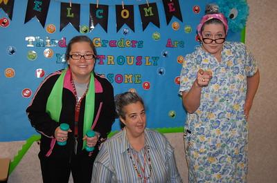 Jennifer Reimann, Katherine Bowers, Lara Classen (3rd Grade)
