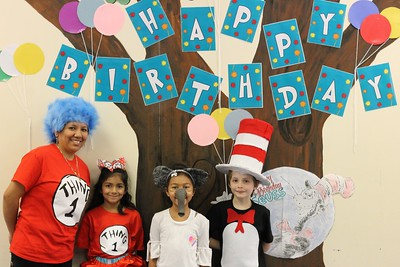 Dr. Seuss Day at County Line Elementary