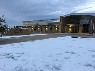Snow on December 8, 2017 at NBMS