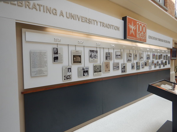 100th Exhibit Timeline