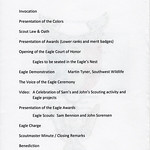 2018-03-25 BSA Troop 1696 Eagle Court of Honor_0002 - Program