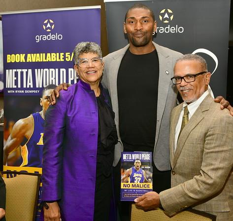 2018 Homecoming Gala with Metta World Peace