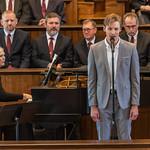 """Jadon Webster, Soloist, Singing """"Danny Boy"""""""