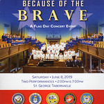 2019-06-08 SUHC Flag Day Concert - Because of the Brave_0001 - Program