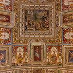 Rome - A Ceiling in the Vatican Museum