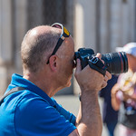 Rome - Ken Taking Photos at the Piazza Navona