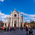 2019-10 Southern Utah Heritage Choir in Italy_1993 - Florence - Basilica of Santa Croce