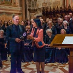 Assisi - The Southern Utah Heritage Choir Concert in the Basilica of San Francesco of Assisi - The Mayor of Assisi Honoring the Choir