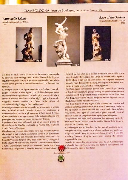 Florence - Galleria dell' Accademia