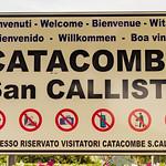 Rome - The Catacombs of San Callisto