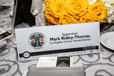 Silver Sponsor:  L.A. County Supervisor Mark Ridley-Thomas