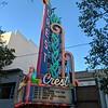 Crest Theatre marquee, April 12, 2019.