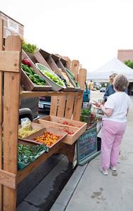 Farmer's Market on the square.