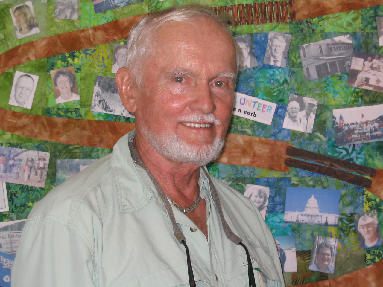 Big O Hike founder Gordon Johnson<br /> PHOTO CREDIT: Diane Wilkins / Florida Trail Association