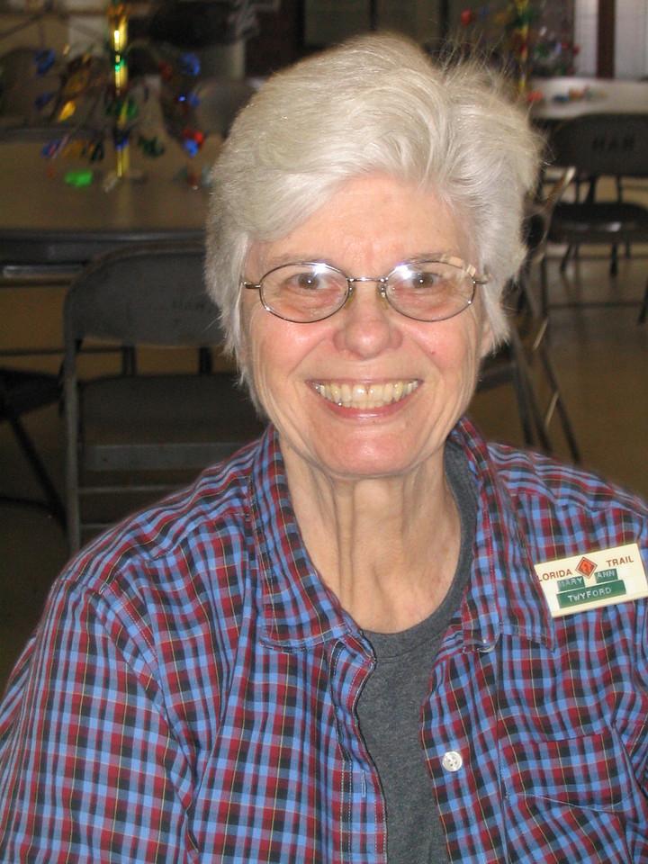 FTA past president Mary Ann Freyer <br /> PHOTO CREDIT: Diane Wilkins / Florida Trail Association