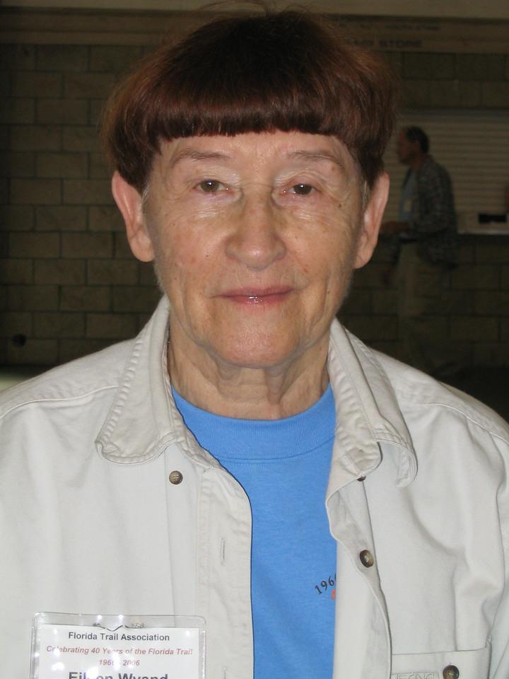 FTA president Eileen Wyand<br /> PHOTO CREDIT: Diane Wilkins / Florida Trail Association