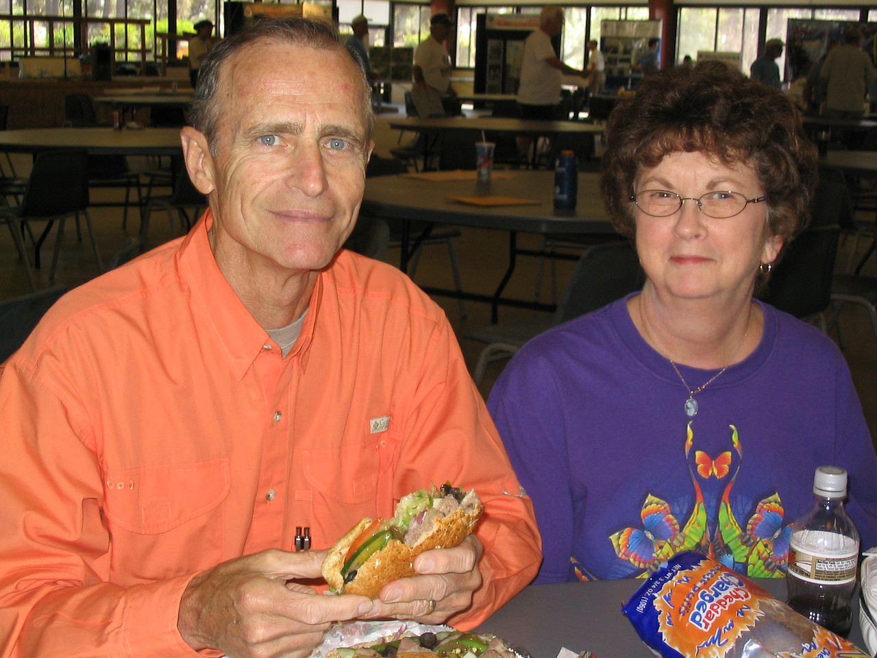 Don and Gloria Neale<br /> PHOTO CREDIT: Diane Wilkins / Florida Trail Association