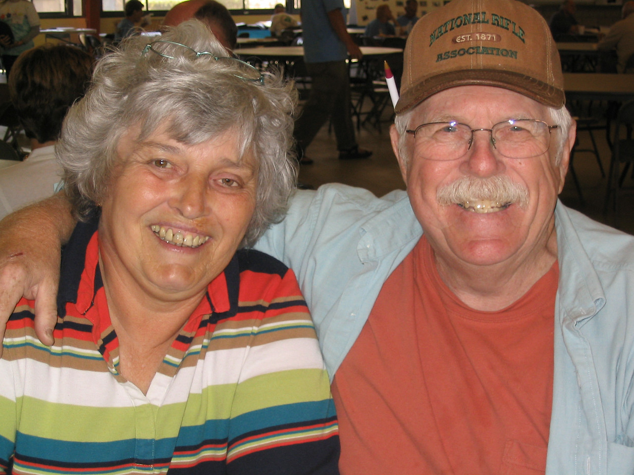 Carol Ann and Fred Schiller<br /> PHOTO CREDIT: Diane Wilkins / Florida Trail Association
