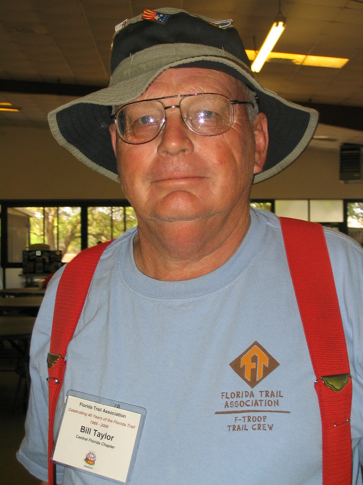 Bill Taylor<br /> PHOTO CREDIT: Diane Wilkins / Florida Trail Association