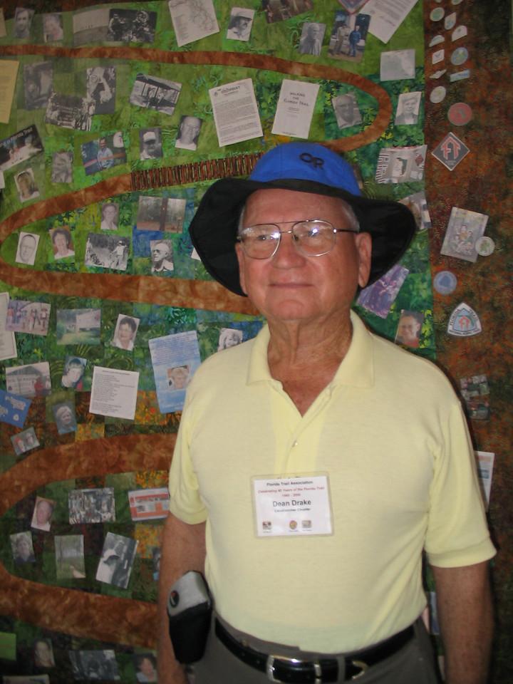 FTA trailmaster Dean Drake<br /> PHOTO CREDIT: Diane Wilkins / Florida Trail Association
