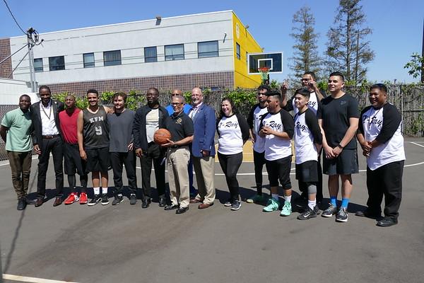 Basketball Tournament #1 at Keck Courts