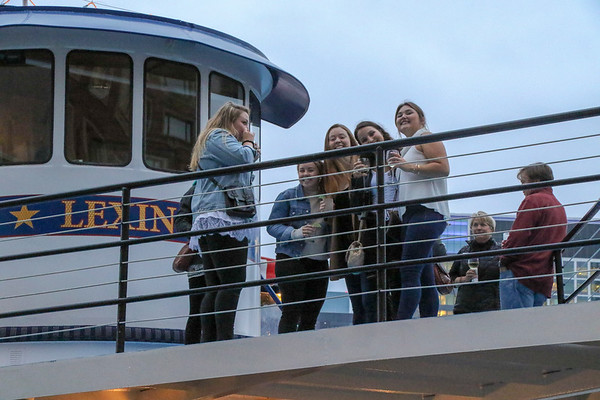 Boston Harbor Cruise with Alumni, Family, and Friends