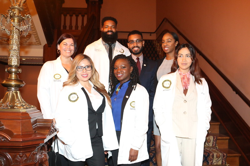 Student Leaders from Charles R. Drew University of Medicine and Science visit the State Capitol Building