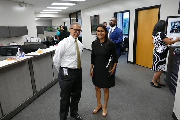 10/18/2017 Visit by Rep. Nanette Diaz Barragán