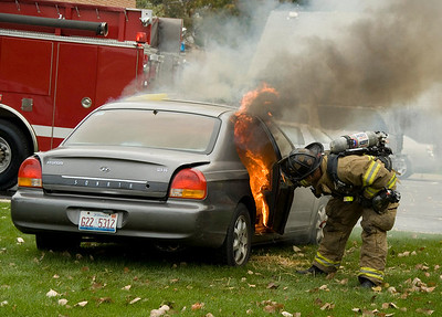 Yep......it's a car fire!