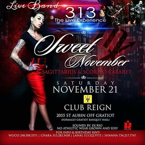 Club Reign 11-21-15 Saturday