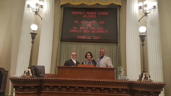 Congressional/Legislative Visits and Hearings