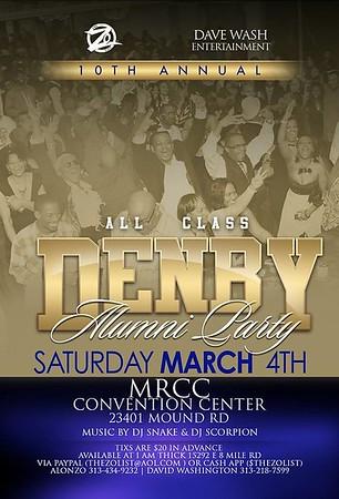 Denby Alumni 3-4-17 Saturday