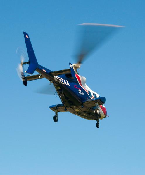E.D. / C'ville Fire Camp session 2 - Air Angels visit...