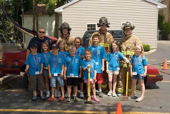 East Dundee / Carpentersville Fire Camp Day 1 & 2 - June 23, 2008
