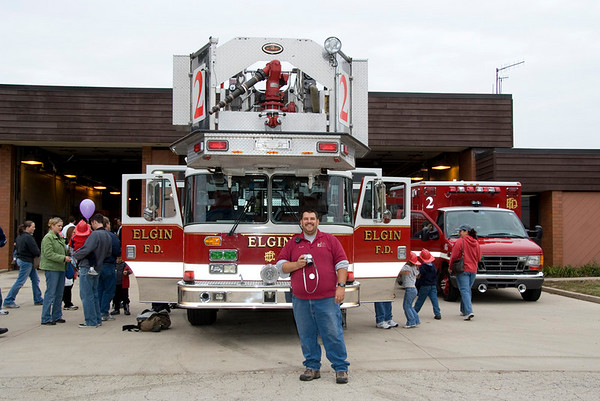 Elgin Fire Dept. Open House - October 13, 2007