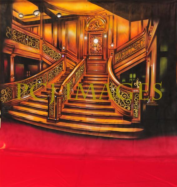 staircase backdrop