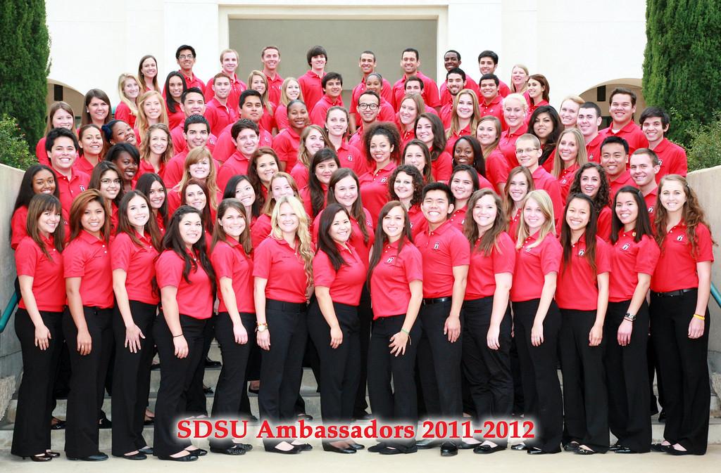 SDSU Ambassadors 2011-2012