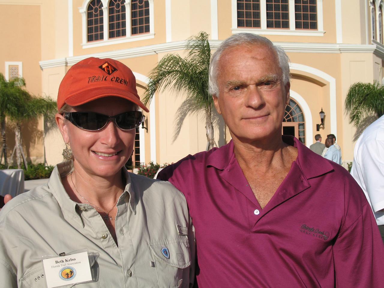 Beth Kelso and Harris Rosen